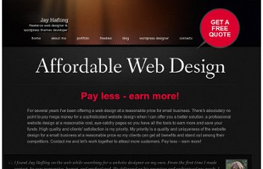 http://www.jayhafling.com/affordable-web-design/