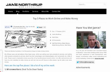 http://www.jamienorthrup.com/top-5-places-to-work-online-and-make-money/