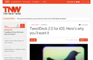 http://thenextweb.com/apps/2011/04/26/tweetdeck-2-0-for-ios-heres-why-youll-want-it/