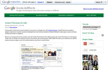 http://adwords.blogspot.com/2011/04/instant-previews-for-ads.html