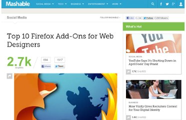http://mashable.com/2011/04/26/firefox-web-design-add-ons/