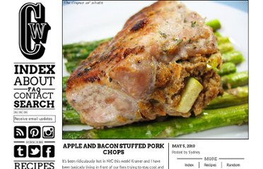 http://crepesofwrath.net/2010/05/05/apple-and-bacon-stuffed-pork-chops/