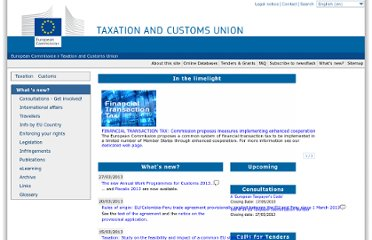 http://ec.europa.eu/taxation_customs/index_en.htm