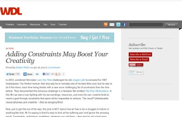 http://webdesignledger.com/tips/adding-constraints-may-boost-your-creativity