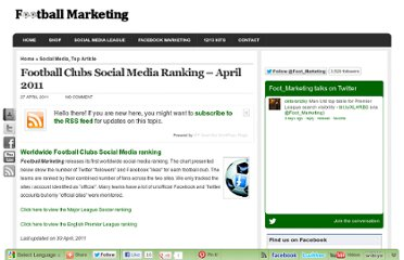 http://www.football-marketing.com/2011/04/27/football-clubs-social-media-ranking-april-2011/