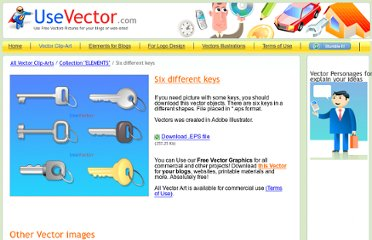 http://www.usevector.com/vector-clipart/vectors-keys-collection-objects.html