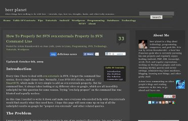 http://beerpla.net/2009/06/20/how-to-properly-set-svn-svnexternals-property-in-svn-command-line/