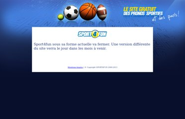 http://sport4fun.sports.fr/pronostics/index.html