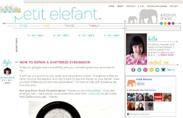 http://petitelefant.com/how-to-repair-a-shattered-eyeshadow/