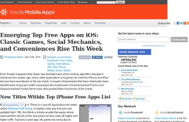 http://www.insidemobileapps.com/2011/04/27/emerging-top-free-apps-on-ios-classic-games-social-mechanics-and-conveniences-rise-this-week/