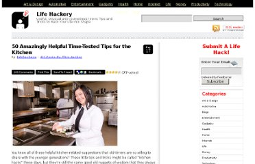 http://lifehackery.com/2008/05/17/50-amazingly-helpful-time-tested-tips-for-the-kitchen/