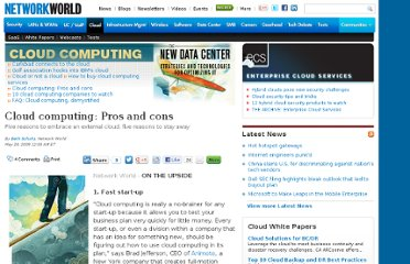 http://www.networkworld.com/supp/2009/ndc3/051809-cloud-pro-con.html