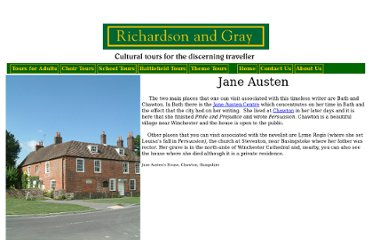 http://www.richardsonandgray.com/Theme%20Tours/Literature%20Tours/Jane%20Austen.htm