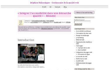 http://articles.nissone.com/2011/04/integrer-accessibilite-dans-demarche-qualite-resume/