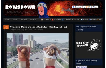 http://www.rowsdowr.com/2010/09/26/awesome-music-video-el-guincho-bombay-nsfw/