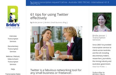 http://www.bridiestypingservices.com/40-tips-for-using-twitter-effectively/