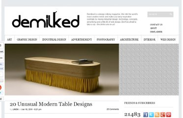 http://www.demilked.com/unusual-modern-table-designs/