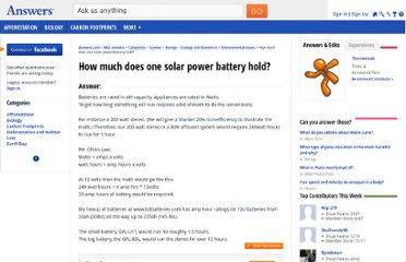 http://wiki.answers.com/Q/How_much_does_one_solar_power_battery_hold
