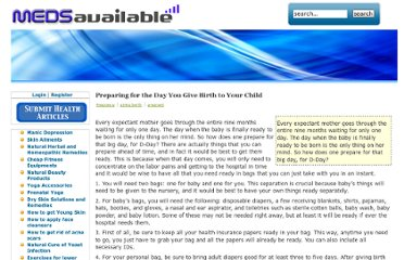 http://medsavailable.com/articles/preparing-for-the-day-you-give-birth-to-your-child