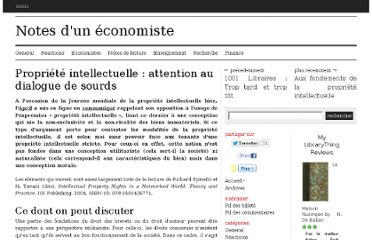 http://www.leconomiste-notes.fr/dotclear2/index.php/post/2011/04/27/Propri%C3%A9t%C3%A9-intellectuelle-%3A-attention-au-dialogue-de-sourds
