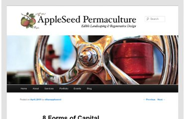 http://appleseedpermaculture.com/8-forms-of-capital/