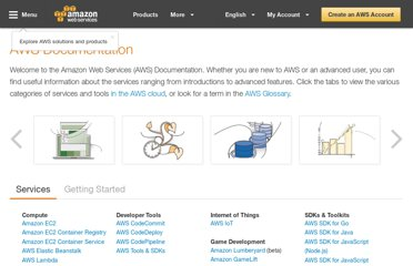 http://aws.amazon.com/documentation/