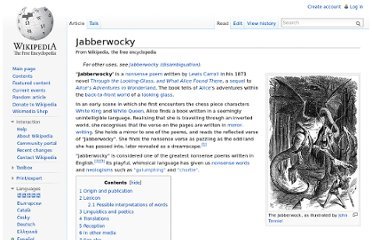 http://en.wikipedia.org/wiki/Jabberwocky#Possible_interpretations_of_words