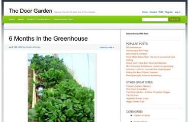 http://doorgarden.com/04/6-months-in-the-greenhouse