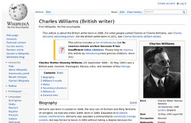 http://en.wikipedia.org/wiki/Charles_Williams_(British_writer)