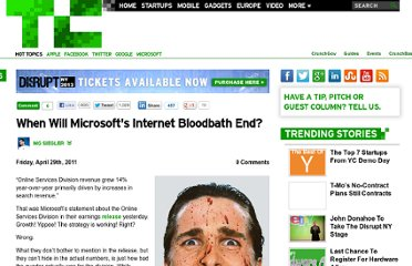 http://techcrunch.com/2011/04/29/microsoft-internet-bloodbath/