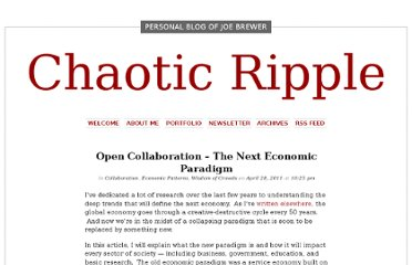 http://www.chaoticripple.com/2011/open-collaboration-paradigm/