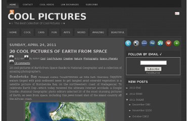 http://www.coolpicturegallery.us/2011/04/20-cool-pictures-of-earth-from-space.html