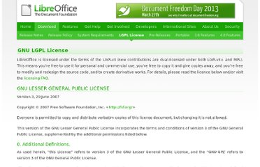 http://www.libreoffice.org/download/license/
