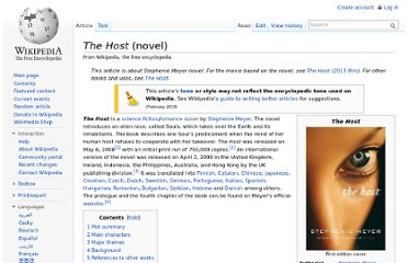 http://en.wikipedia.org/wiki/The_Host_(novel)