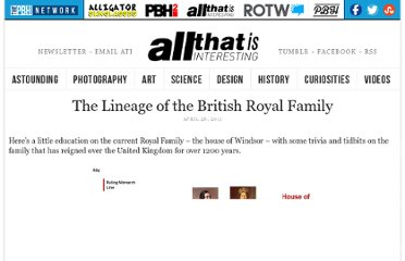 http://all-that-is-interesting.com/post/5019101017/the-lineage-of-the-british-royal-family