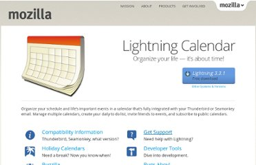 http://www.mozilla.org/projects/calendar/
