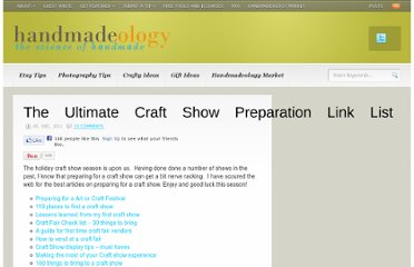 http://www.handmadeology.com/the-ultimate-craft-show-preparation-link-list/