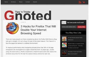 http://gnoted.com/3-hacks-for-firefox-double-internet-browsing-speed/