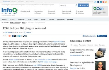 http://www.infoq.com/news/2010/03/egit-released