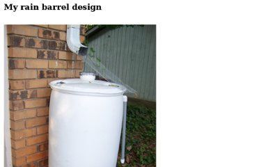 http://www.wizardanswers.com/rain-barrel.html