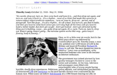 http://www.rotten.com/library/bio/mad-science/timothy-leary/