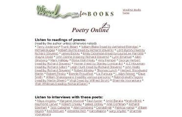http://www.wiredforbooks.org/poetry/