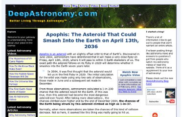 http://www.deepastronomy.com/apophis-asteroid-could-hit-earth.html