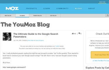 http://www.seomoz.org/ugc/the-ultimate-guide-to-the-google-search-parameters
