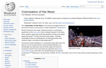 http://en.wikipedia.org/wiki/Colonization_of_the_Moon