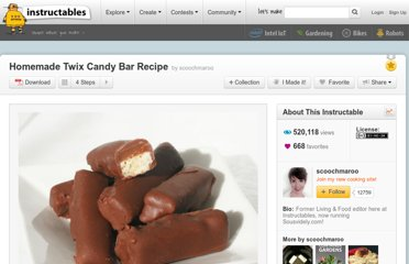 http://www.instructables.com/id/Homemade-Twix-Candy-Bar-Recipe/