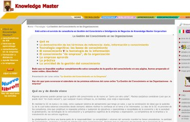 http://www.knowledgemanager.it/KM-KnowledgeManagement-esp.htm