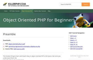 http://www.killerphp.com/tutorials/object-oriented-php/