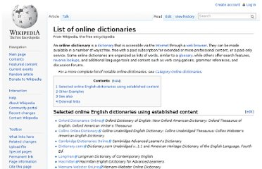 http://en.wikipedia.org/wiki/List_of_online_dictionaries