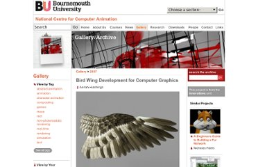 http://ncca.bournemouth.ac.uk/gallery/view/398/Bird_Wing_Development_for_Computer_Graphics